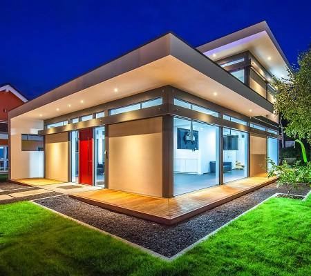 flock-haus-switzerland-case-legno-vetro-moderna