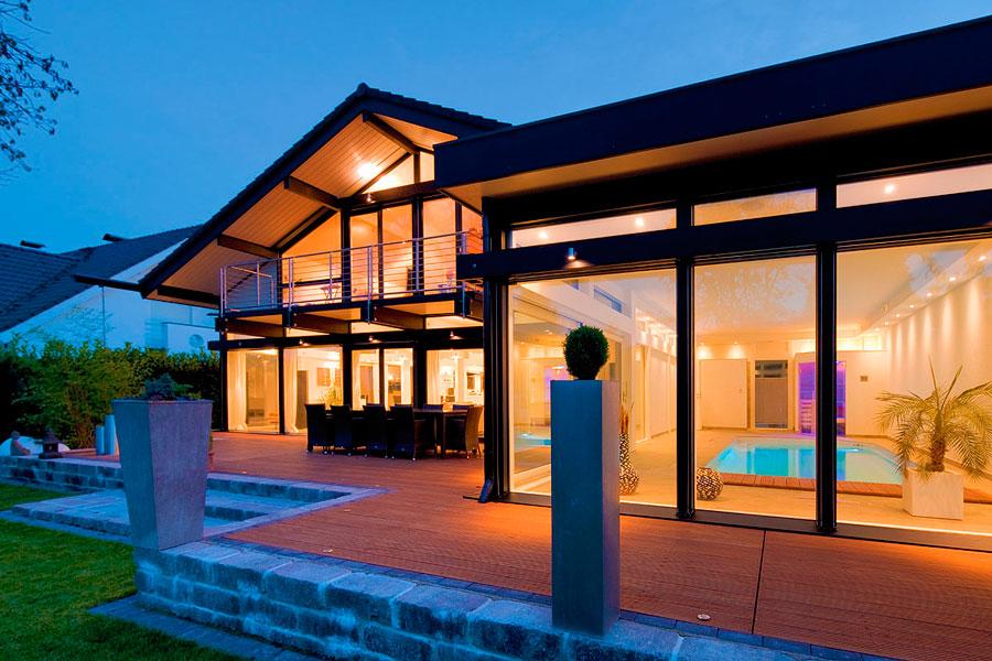 FLOCK Haus - case di lusso in legno e vetro Canton Ticino