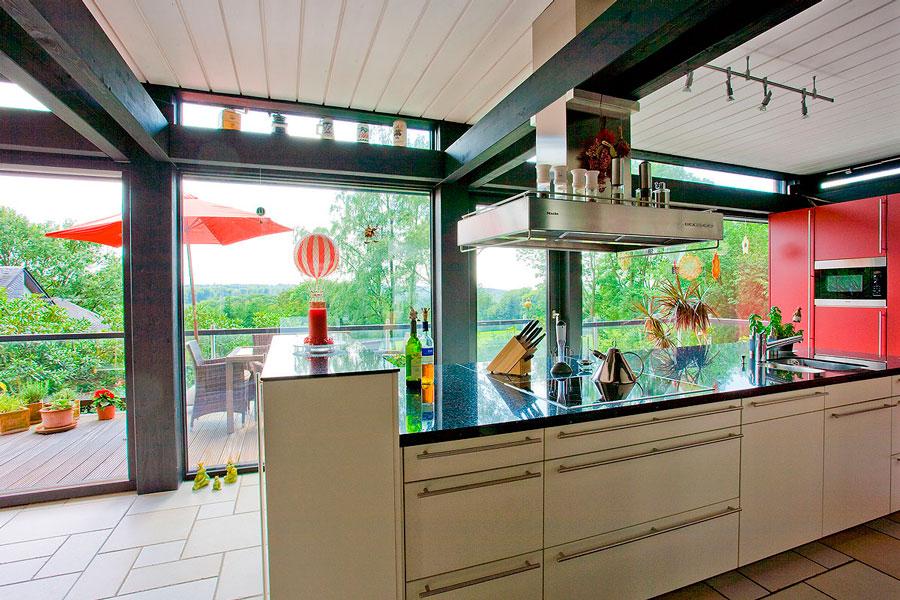 FLOCK Haus - casa in legno e vetro Canton Ticino