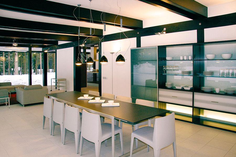 FLOCK Haus - case di lusso in legno e vetro pareti trasparenti