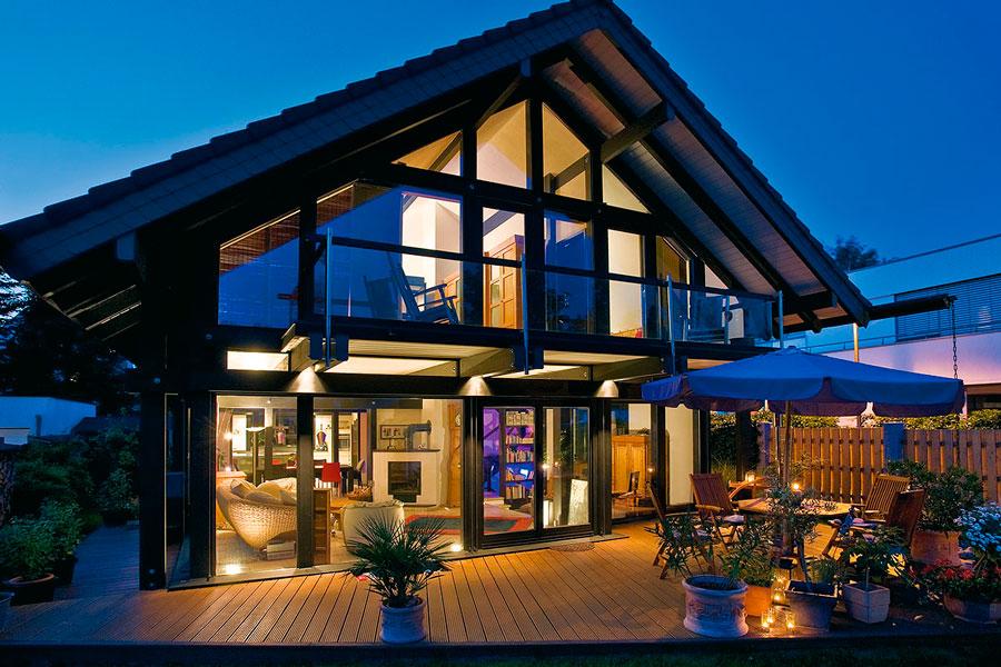 La Verita Sulle Case In Legno Vetro Flock Haus Switzerland