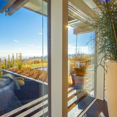 Flock Haus case in legno e vetro